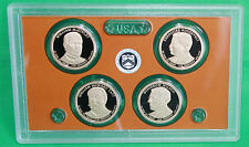 2013 Proof Presidential $1 Coin Set COINS ONLY US Mint 4 Golden Dollar President