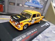 SEAT 124 2100 16V Rallye Costa Brava 1977 #1 Zanini Gr.5 Breitbau IXO SP 1:43