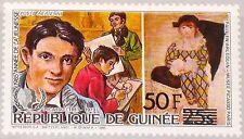 GUINEA 1986 1104 999 ovp ÜD Picasso Paintings Gemälde Art Kunst Maler MNH