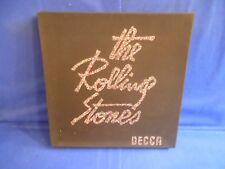 ROLLING STONES BOX DECCA ORIG FRANCE 1976 5 LP + RARE T SHIRT PAILLETTES EXC+