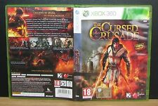 THE CURSED CRUSADE - XBox 360 - PAL - Italiano - Usato