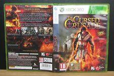 THE CURSED CRUSADE - XBox 360 - PAL - Italiano - Usato