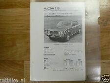 M03-MAZDA 929 SEDAN,COUPE EN STATIONCAR 1974-1975-INFO