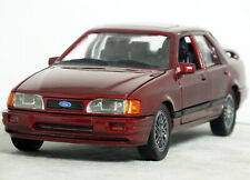 """1:24 Schabak """"1988 FORD SIERRA Sapphire RS COSWORTH"""" (Magenta Red) RARE 1:25 18"""