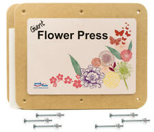 Giant flower press MDT board 372 x 287mm thick card blotting paper