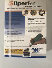 Wizcom Technologies SuperPen Professional Pen Scanner New In Box