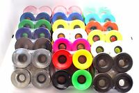 Longboard Curiser Skateboard  Wheels 60mm 65mm 70mm 76mm Black Red Blue Green