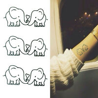 Elephant Tattoo Removable Waterproof Temporary Tattoos Body Art Sticker G3