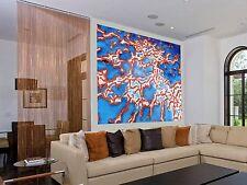 Large  Barrier Reef  Art Painting  Original Oils  Blue Aqua by Jane australia