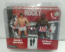 Rare NECA Rocky Balboa - Apollo Creed TRU Exclusive Action Figure Set Post Fight