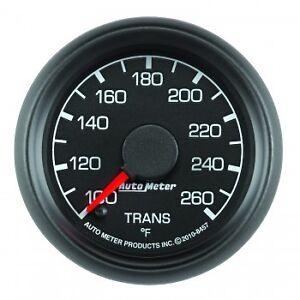 "AutoMeter Gauge, Transmission Temp 100-200 Deg. 2-1/16"" Ford Factory Match -8457"