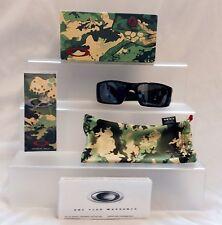 """*NEW* Oakley """"FUEL CELL"""" blkCAMO JUPITER/ BLACK IRIDIUM Mir Sunglasses #9096-41"""