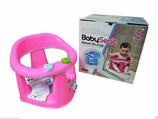 3in1 Baby Bath Dinning Activity Play Seat Chair Ring Bathing Tub Support PINK