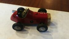 Schuco micro racer 1040 model wind-up (missing key) #5 red car Vintage Germany