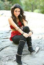 Vanessa Hudgens 8X10 sexu boots red top 2