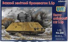 UM Heavy Anti Aircraft Car S.Sp in 1/72 258  ST