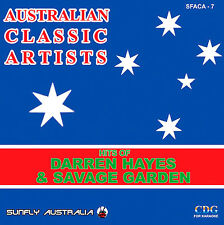 SAVAGE GARDEN / DARREN HAYES HITS AUSSIE SUNFLY KARAOKE CD+G