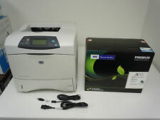 Q2425A HP LASERJET 4200N PRINTER (LOW PAGE COUNT) & NEW COMP HP 38A Q1338A TONER