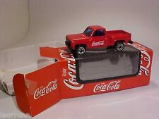 Chevy Chevrolet F 150 Pick Up Coca-Cola Promotional Welly 1/64 Diecast Mint Box
