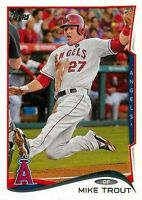 2014 TOPPS #1 MIKE TROUT ANGELS