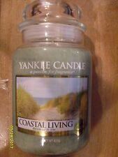 Yankee Candle Coastal Living 22 oz One Wick NEW 2017 European Release