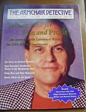 ARMCHAIR DETECTIVE magazine mystery Spring 1994 Lawrence Block