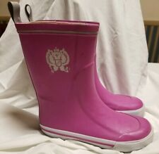 Rain Boots 6 Medium KHOMBU Solid ''PINK''  Rubber