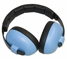 NEW Baby Banz earBanZ Infant Hearing Protection Blue FREE SHIPPING