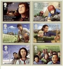 GB POSTCARDS PHQ CARDS MINT FULL SET 2007 SCOUT CENTENARY PACK 301