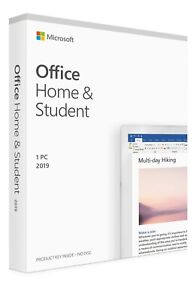 Microsoft Office Home and Student 2019 FULL VERSION - Lifetime Subscription