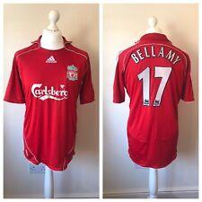 Liverpool 2006-08 Home Shirt BELLAMY #17 Size L