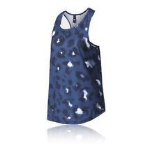 Abbigliamento sportivo da donna maglie blu senza maniche