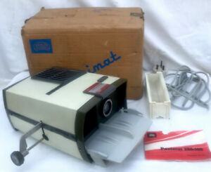 Vintage Braun Paximat 200 Slide Projector 35mm Tested Working Mid Century Test