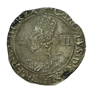 Charles i hammered silver Shilling  mm Anchor  S2797
