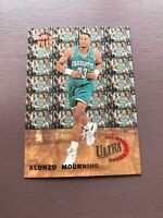 ALONZO MOURNING 1992-93 FLEER ULTRA ALL ROOKIE SERIES 6 OF 10 HORNETS RARE SP
