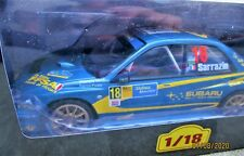 Rallye 1/18 Altaya N° 74 Subaru Impreza WRC - 2004 - S. Sarrazin  Neuf + livret