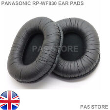 Leather ear pads for Panasonic RP-WF830 WF830 WF 830 Replacement - NEW - UK POST
