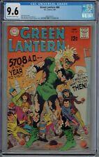 CGC 9.6 GREEN LANTERN #66 MURPHY ANDERSON COVER 1969