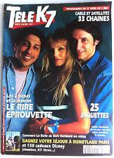 Télé Cable Satellite du 27 au 3/05/1996; Smain, Dombasle, De Caunes
