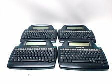 Lot of 4 AlphaSmart 3000 Laptop Keyboard Word Processor
