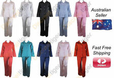 Satin Pajama Sets Hand-wash Only Sleepwear for Women