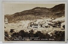 Death Valley California RPPC Death Valley Scotty's Photo Postcard B8