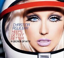 CHRISTINA AGUILERA - KEEPS GETTIN' BETTER (A DECADE OF HITS) CD