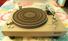New listing Vintage Scott Ps-67 Direct Drive Turntable For Parts Or Repair