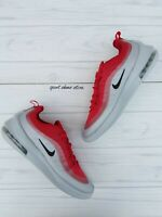SIZE 8.5 MEN'S NIKE AIR MAX AXIS RED SILVER AA2146 600 RUNNING CASUAL SNEAKERS