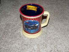 Warner Bros Polar Express Hot Chocolate Coffee Mug 3D Design 12 ounce