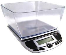 PESACARTAS myweigh 7001dx Plata 7Kg X 1g báscula de Cocina Digital Balanza 1G