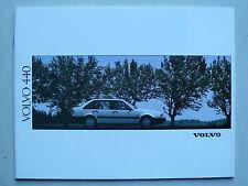 Prospekt Volvo 440 (440 GL - Turbo), 1991, 42 Seiten, für die Schweiz
