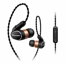 PIONEER Earphone SE-CH9T  Hi-Res Canal Type  Black New in Box F/S