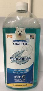 Nylabone Advanced Oral Care Water Additive - Plaque & Tartar Remover (32 Oz)